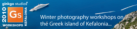 Ginkgo Studios 2010 Kefalonia based Photography workshops & holidays