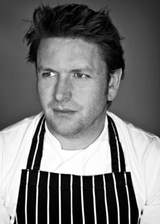 James_Martin_TV_Chef_UK_August_2010_Portraits_Prints_to_Buy_Licence_Exclusive_Royalty_Free_In_Whites_Striped_Apron